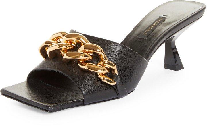 Medusa Chain Slide Sandal