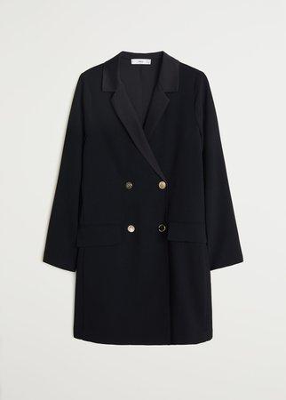 Double buttoned dress - Women | Mango USA