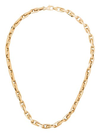 Adina Reyter 14kt yellow gold chain-link necklace gold N1352CBCY14 - Farfetch