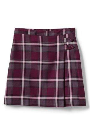 School Uniform Plaid A-line Skirt