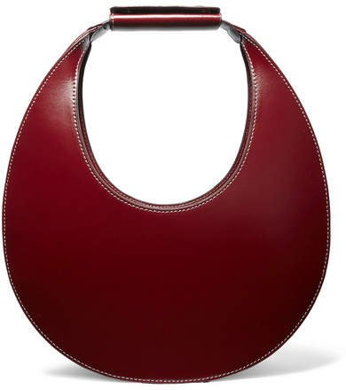 Moon Leather Tote - Burgundy