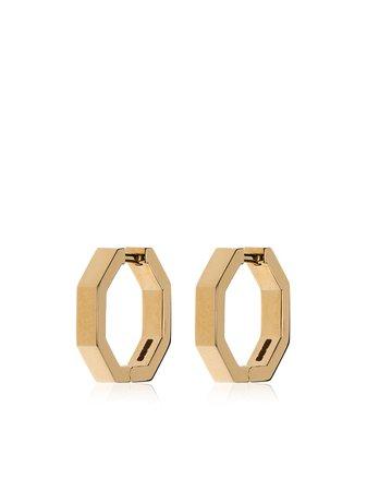 JEM Octagon Hoop Earring - Farfetch