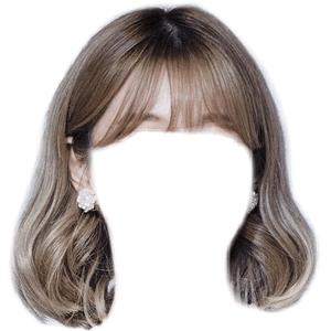 SHORT HAIR PNG BANGS
