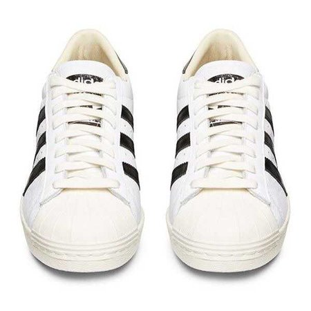 Adidas Consortium White Leather Superstar 'Made In France' Low Top