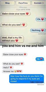 boyfriend girlfriend funny text messages - Google Search