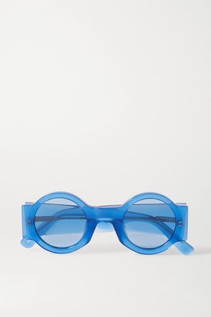 Dries Van Noten | Round-frame acetate sunglasses | NET-A-PORTER.COM
