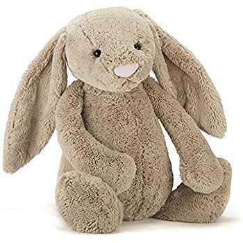Amazon.com: Jellycat Bashful Beige Bunny Huge - H20 / Beige: Toys & Games