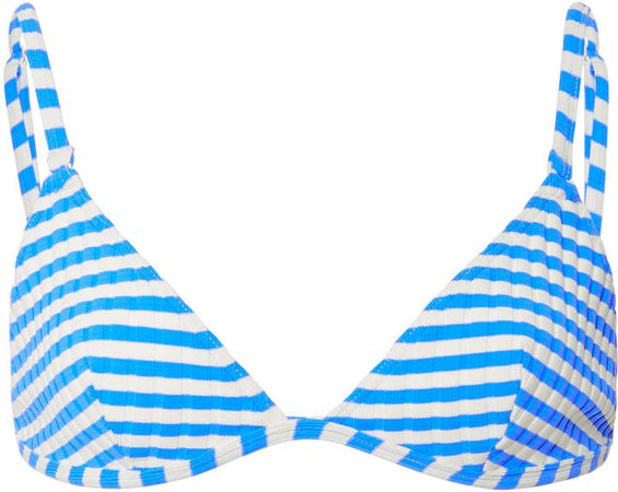 Lulu Striped Bikini Top