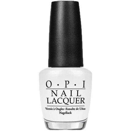 O.P.I White Nail Lacquer