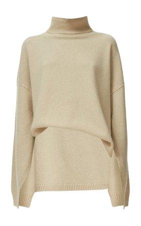 Cashmere-Wool Turtleneck Sweater By Tibi | Moda Operandi