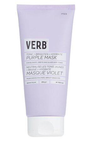Verb Purple Toning & Hydrating Hair Mask | Nordstrom