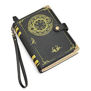 Black Magic Spellbook Billfold - Exclusive   thinkgeek.com