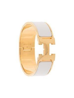 Hermès H logo bracelet