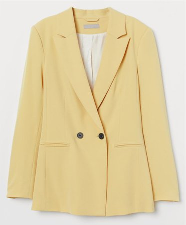 H&M Double Breasted Blazer