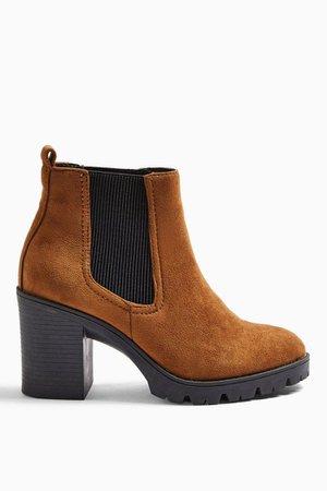 BYRON Tan Unit Boots | Topshop
