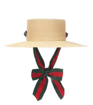 Paper Straw Hat - Gucci | Mytheresa