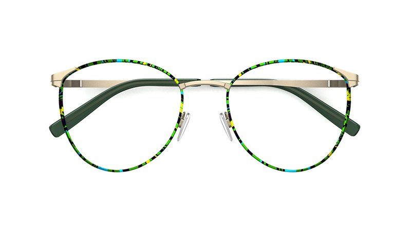 Specsavers Women's glasses HARRIET | Green Frame £89 | Specsavers UK