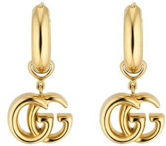GG Running Drop Earrings