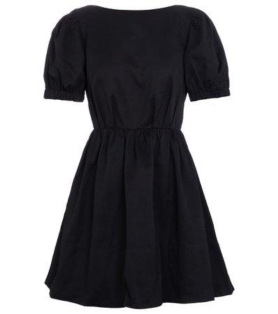Staud - Alix cotton-blend faille minidress | Mytheresa