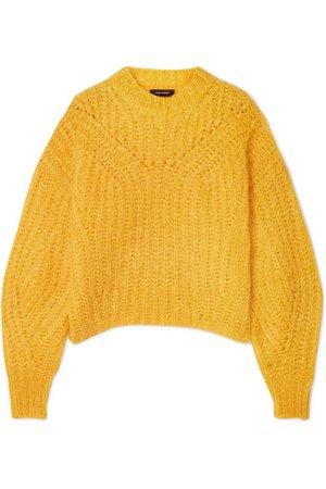 Isabel Marant | Inko mohair-blend sweater | NET-A-PORTER.COM