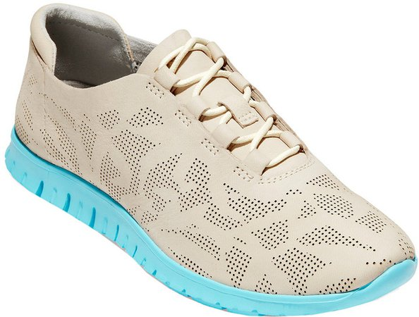 Zerogrand Perforated Leather Sneaker