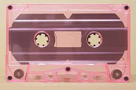 pink cassette tape - Google Search