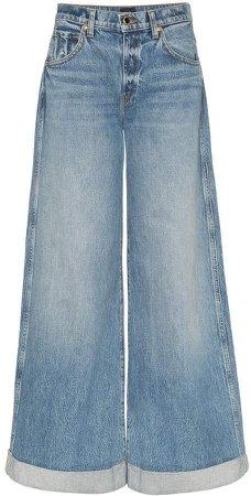 Noelle wide leg jeans