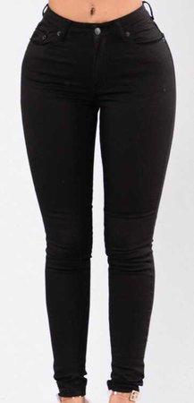 fashion nova jeans black
