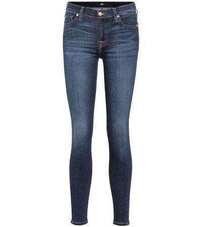 Aubrey mid-rise skinny jeans