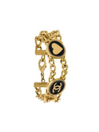 Chanel Pre-Owned Double Chain Bracelet - Farfetch