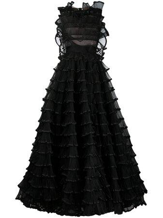 Giambattista Valli, Tiered Ruffle Gown
