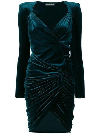 Alexandre Vauthier Ruched Short Dress | Farfetch.com