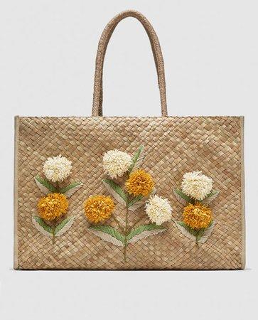 Zara Floral Tote Bag