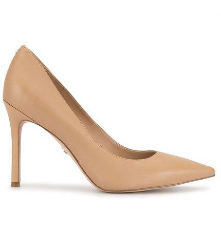 Hazel pointed toe pumps