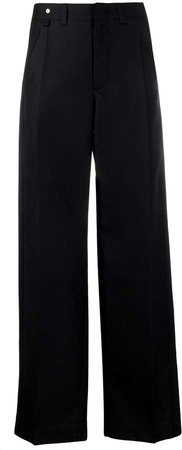 high-rise tailored trousers
