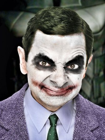 mr beans face art movie characters - Google Search