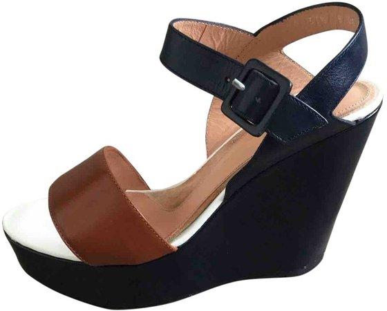 Multicolour Leather Sandals