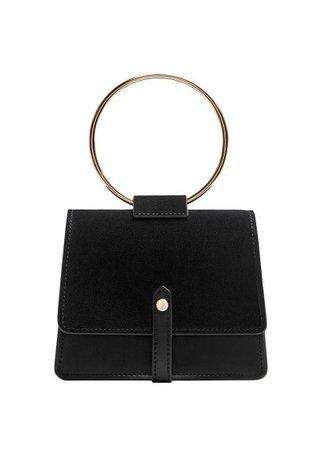 Violeta BY MANGO Ring flap bag
