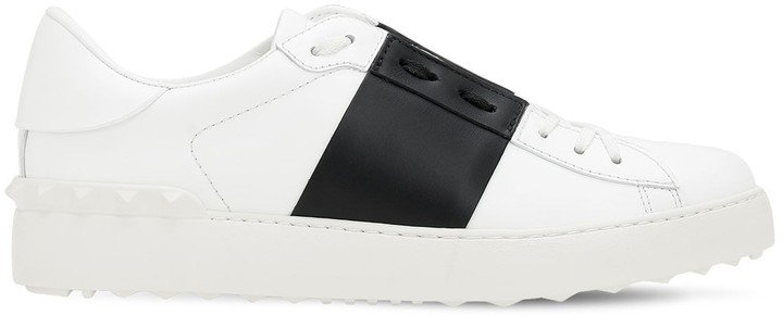 20mm Open Leather Sneakers