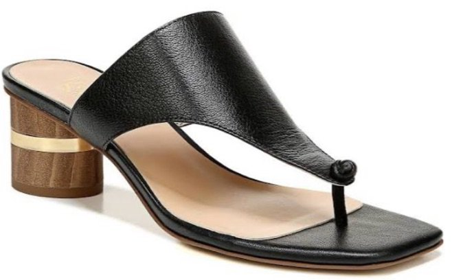 Black sandal Franco Sarto