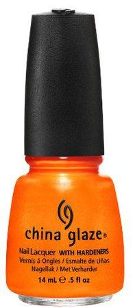 Orange China Glaze Nail Polish Orange You Hot