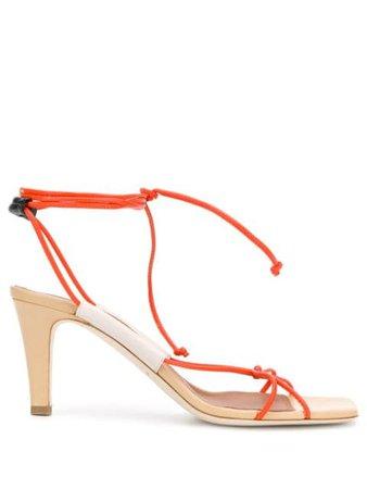 Roksanda X Malone Souliers Strappy Sandals PF19CAMILA702 Neutral | Farfetch