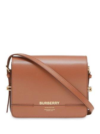 Burberry Small Two-Tone Leather Grace Bag Ss20 | Farfetch.com