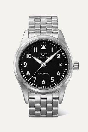 IWC SCHAFFHAUSEN | Pilot's Automatic 36mm stainless steel watch | NET-A-PORTER.COM