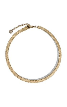 Quinn Gold-Plated Necklace By Young Frankk   Moda Operandi