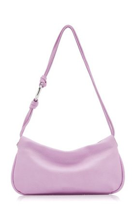 Tate Leather Shoulder Bag By Staud   Moda Operandi