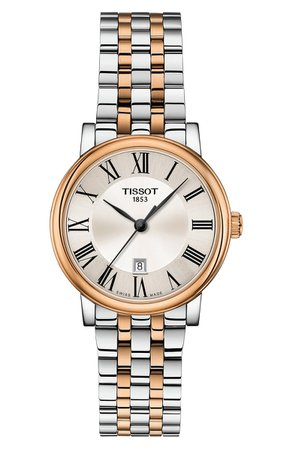 Tissot T-Classic Carson Watch, 30mm | Nordstrom