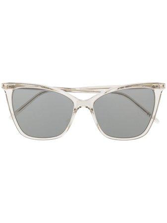 Saint Laurent Eyewear SL 384 cat-eye Frame Sunglasses - Farfetch