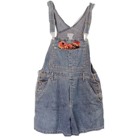overalls with flowers