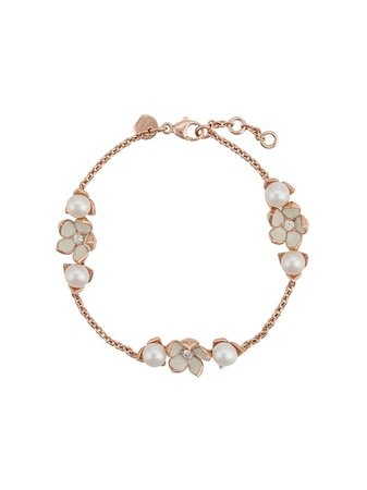 Shaun Leane Cherry Blossom Pearl & Diamond Bracelet | Farfetch.com